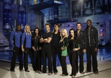 l-r: Twitch, Bethany Hamilton, Jenni Farley, David Chokachi, Alexandra Paul, Kim Richards, Kyle Richards, Antonio Sabato Jr, Terrell Owens