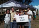 Plug In America activists at National Drive Electric Week event 2015