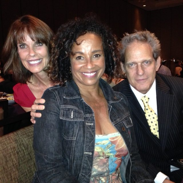 Alexandra Paul, Rae Dawn Chong, Luca Bercovici Sept 232, 2016 32 years after filming American Flyers together
